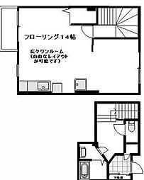 テラスハウスOKA[2階号室]の間取り