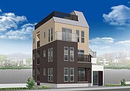 九条南 新築賃貸マンション[201号室]の外観