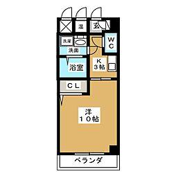 YOSHIX代官町[6階]の間取り