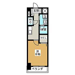 プライマリーステージ[10階]の間取り