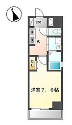 コートデリヴィエール上飯田[5階]の間取り