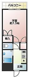 フルーレゾン神戸[203号室]の間取り