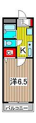 サントピア浦和[3階]の間取り