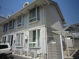 兵庫県神戸市灘区都通3丁目の賃貸アパートの外観