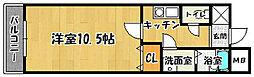 グリーンai[2階]の間取り