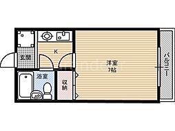 東栄マンション[4階]の間取り