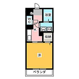 Arioso[5階]の間取り