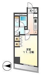 CORNES HOUSE NAGOYA[6階]の間取り