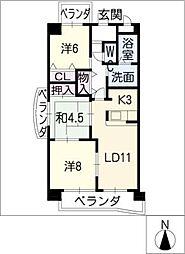 BIO MASAKI[8階]の間取り