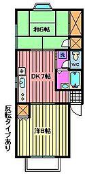 レピュートタカハシ[2階]の間取り