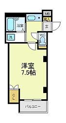 プライムコート天王寺[3階]の間取り