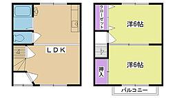 [一戸建] 兵庫県西宮市浜甲子園2丁目 の賃貸【/】の間取り