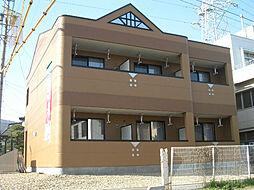 長野県岡谷市赤羽1丁目の賃貸アパートの外観