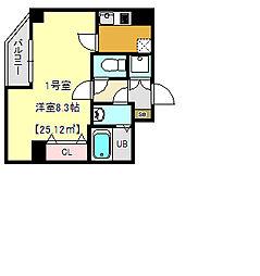 テラス東浅草[3階]の間取り