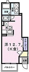 エレガンツァII[0103号室]の間取り