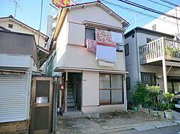 東京都大田区中央2丁目の賃貸アパートの外観