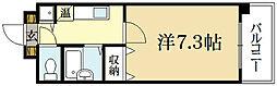 メイプル等持院[1階]の間取り