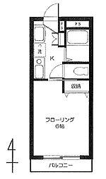 東町4丁目(MKジェムズマンション)[3階]の間取り