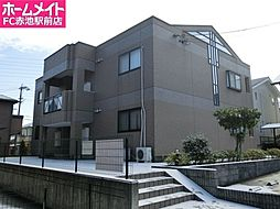 アンジュ神ノ倉B[1階]の外観