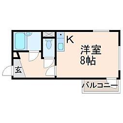 メゾンドリアン[4階]の間取り