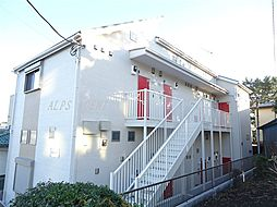 神奈川県横浜市中区竹之丸の賃貸アパートの外観