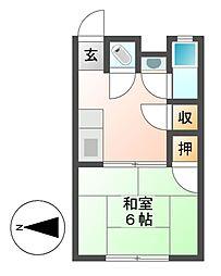 K.GOTOビル[2階]の間取り