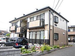 埼玉県ふじみ野市上ノ原3丁目の賃貸アパートの外観