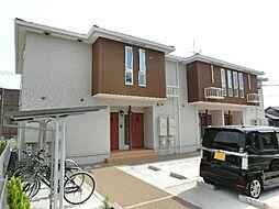 愛知県あま市本郷四反田の賃貸アパートの外観