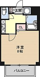 プレサンス京都東山City Life[403号室号室]の間取り