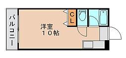 リポーズ310[4階]の間取り