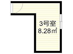 エアリーハウス百合丘[3号室]の間取り