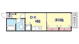 深澤ビル・モンベルトアロード[3階]の間取り