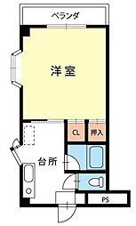 エトワール浅間[3階]の間取り