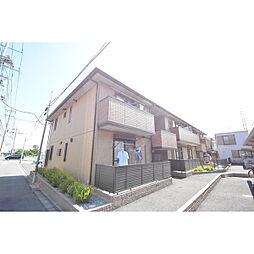 埼玉県川越市小仙波町の賃貸アパートの外観