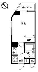 東京都世田谷区桜上水1丁目の賃貸マンションの間取り