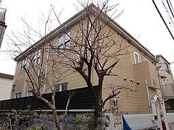 東京都品川区戸越1丁目の賃貸アパートの外観