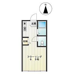 m080[2階]の間取り