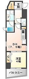 BROU江坂[5階]の間取り