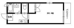 グランサレ[2階]の間取り