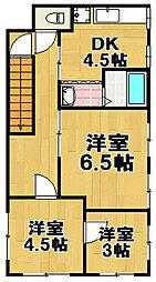 梅香3丁目マンション[2号室]の間取り