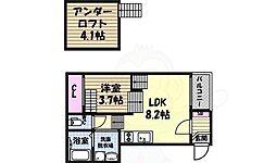 志賀本通駅 6.5万円