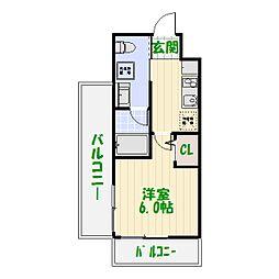 東京都葛飾区立石3丁目の賃貸マンションの間取り