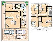 オール電化・駐車3台可能