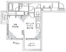 室内新規リフォーム済みの1DKタイプ。居住用はもちろん投資用やセカンドハウスとしてもご検討頂けます。