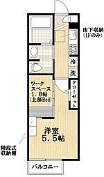 Liens REGALO 船堀 station[2階]の間取り