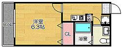 ×casamento BALZAII[105号室]の間取り