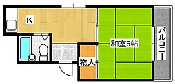 パルハイツ鈴[305号室号室]の間取り