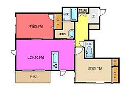 (仮称)東大阪市シャーメゾン岩田町4丁目[101号室]の外観