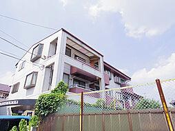 埼玉県所沢市狭山ケ丘2丁目の賃貸マンションの外観