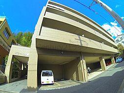 兵庫県宝塚市川面5丁目の賃貸マンションの外観